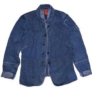 Sundance Vintage Jean Jacket 3/4 Sleeve